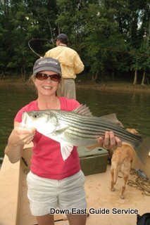 striped bass fishing in North Carolina